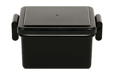 GEL-COOL Square caviar black S