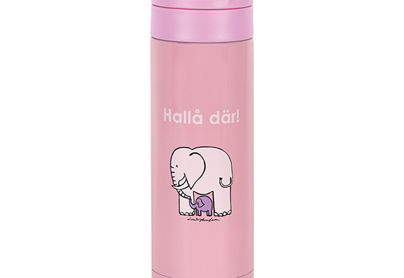 Stainless steel tumbler elephant