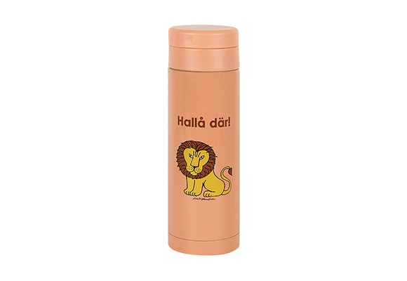 Stainless steel tumbler lion