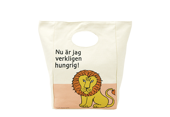 Lunch bag lion