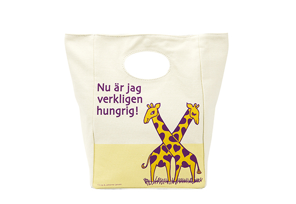 Lunch bag giraffe